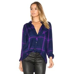 Rails Hunter Plaid Shirt Navy/Ultraviolet